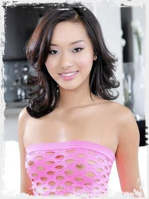 Petite asian teen Alina Li getting her pussy tooled hard